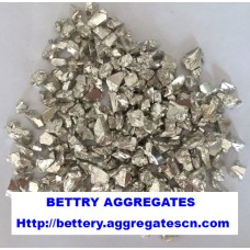 Silver coated glass chip