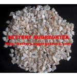 White mother of pearl aggregate
